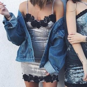 LF Velvet/Lace Dress